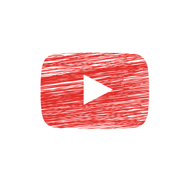 logo de youtube creado por ElisaRiva en Pixabay